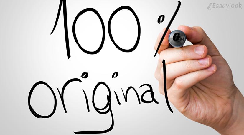 100% Originality